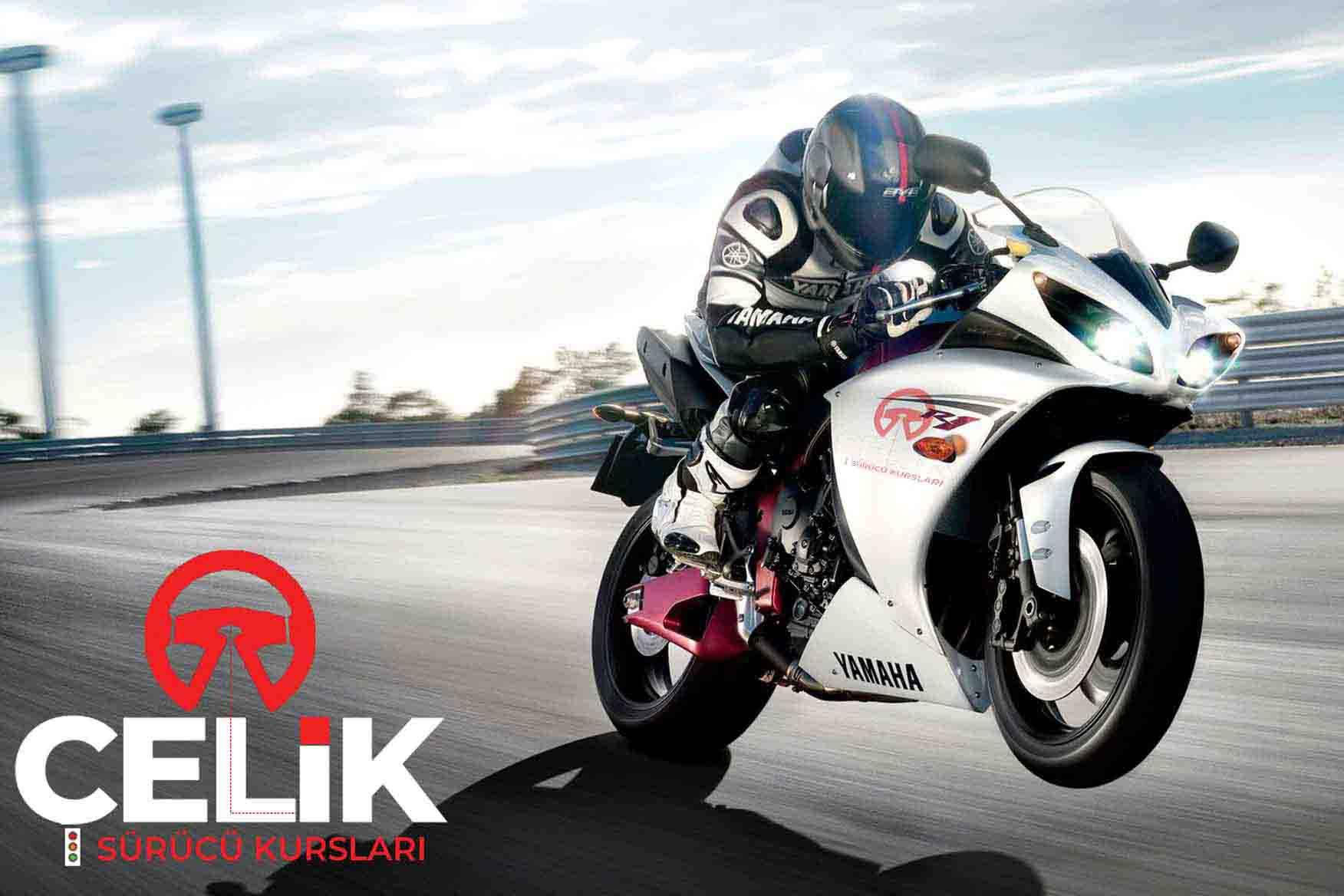 çelik sürücü kursu A motorsikletdusuk
